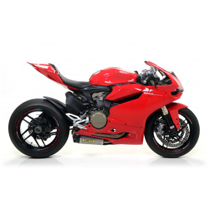 Echappement Arrow Works Titane embout carbone, Ducati 1199 Panigale 12-15