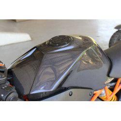 Capot de réservoir et batterie kit carbone, KTM RC 125-200-390 2014-18