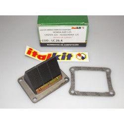 Boite à clapets Italkit compétition carbone, Honda 125 NSR CRM, Cagiva 125
