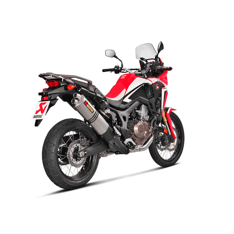 echappement akrapovic titane honda crf 1000 africa twin 2016 avsmoto racing parts. Black Bedroom Furniture Sets. Home Design Ideas
