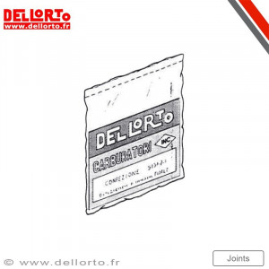 Pochette de joint carburateur Dellorto PHF