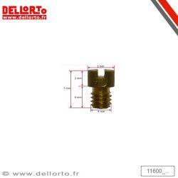 Gicleur de puissance/ralenti M4 carburateur Dellorto