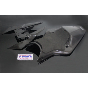 Carénage de selle carbone route style KTM Racing Cup, KTM RC125/200/390 2014-18