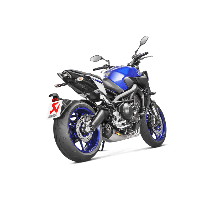 ligne compl te akrapovic racing titane yamaha mt 09 tracer xsr 2013 18 avsmoto racing parts. Black Bedroom Furniture Sets. Home Design Ideas