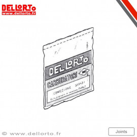 Pochette de joint carburateur Dellorto PHBL