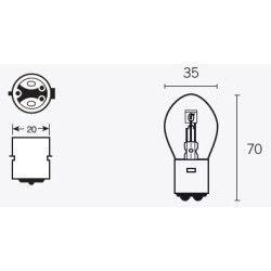 Ampoule - 6v 35/35w