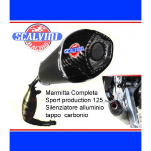 Echappement Scalvini Racing Aprilia RS 125 1999-15